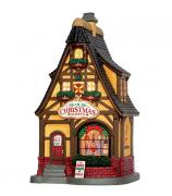 Домик с подсветкой «Рождественский магазин»