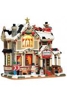 Домик с подсветкой «Рождественский домик»