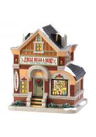 Домик с подсветкой «Магазин елочных украшений»