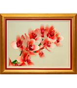 Вышитая картина «Ветка орхидеи»