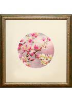 Вышитая картина «Роскошь цветущей магнолии»