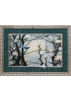Вышитая картина «Голубая магнолия»