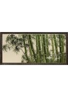 Шелковая картина «Утро в бамбуковой роще»