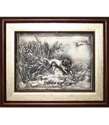 Подарочная картина «Охота на уток»