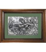 Подарочная картина «Охотничьи собаки»