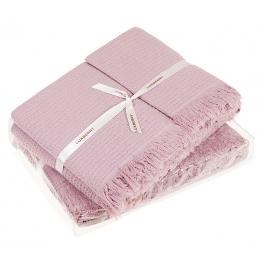 Комплект из 3-х вафельных полотенец «MACARONI»