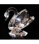 Хрустальный сувенир «Лебедь»