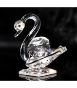 Хрустальная фигурка «Лебедь»