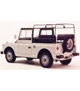 Масштабная модель автомобиля «FIAT CAMPAGNOLA 1974 — PAPAMOBILE JEAN-PAUL II»