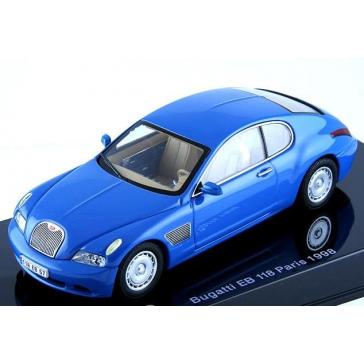 Модель автомобиля «BUGATTI EB 118 FRENCH RACING BLUE»