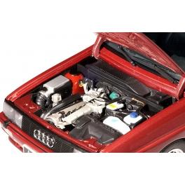 Модель автомобиля «RAUDI QUATTRO 1988 LWB RED METALLIC»