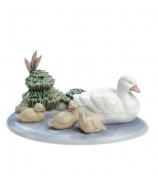 Фарфоровая статуэтка «Утки в пруду»