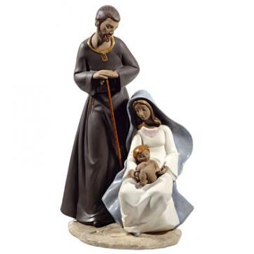 Фарфоровая статуэтка «Святое семейство»