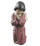 Фарфоровая статуэтка «Ангельская молитва»
