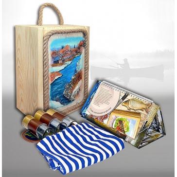 Подарочный набор «Сибирь. Рыбалка»