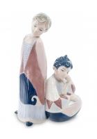 Фарфоровая статуэтка «Знак Зодиака — Близнецы»
