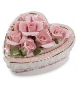 Фарфоровая шкатулка «С любовью!»