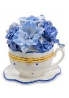 Фарфоровая статуэтка-шкатулка «Чашечка радости»