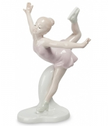 Фарфоровая статуэтка «Фигуристка»