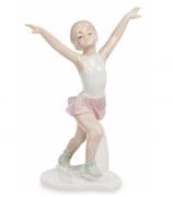 Фарфоровая статуэтка «Юная фигуристка»