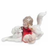Фарфоровая статуэтка «Празднуем вместе»