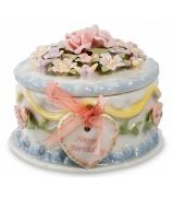 Фарфоровая шкатулка «С днем рождения!»