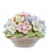 Фарфоровая композиция «Весенние цветы»