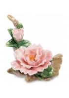Фарфоровый цветок «Чайная роза»