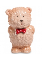 Фарфоровая статуэтка «Мишка с букетом»