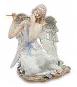 Фарфоровая статуэтка «Ангел с флейтой»