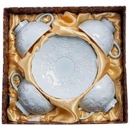 Чайный набор на 4 персоны «Лаце Росса»