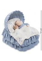 Фарфоровая статуэтка «Спящий малыш»