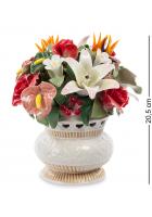 Фарфоровая статуэтка «Ваза с цветами»