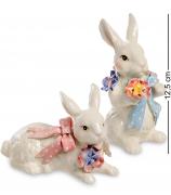 Набор статуэток «Пара кроликов»
