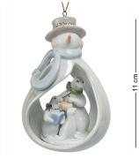 Статуэтка-подвеска «Снеговичок»