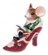 Фарфоровая статуэтка «Мышонок в туфельке»