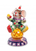Статуэтка «Мышонок-клоун»