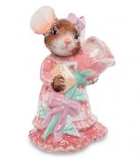 Статуэтка «Мышка в розовом»