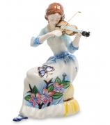 Фарфоровая статуэтка «Девушка со скрипкой»