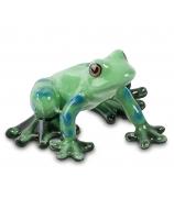 Фарфоровая статуэтка «Лягушка»