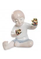 Фарфоровая статуэтка «Юный художник»