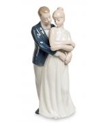 Фарфоровая статуэтка «Пара влюбленных»