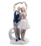 Фарфоровая статуэтка «Влюбленные»