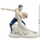 Фарфоровая статуэтка «Пара фигуристов»