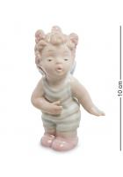 Фарфоровая статуэтка «Ангел-девочка»
