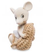 Фарфоровая фигурка «Мышка с орехом»