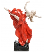 Фарфоровая статуэтка «Грация в танце»