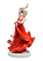 Фарфоровая статуэтка «Танцовщица фламенко»