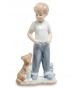 Фарфоровая статуэтка «Преданный друг»