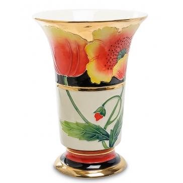 Фарфоровая ваза для цветов «Маковый цвет»